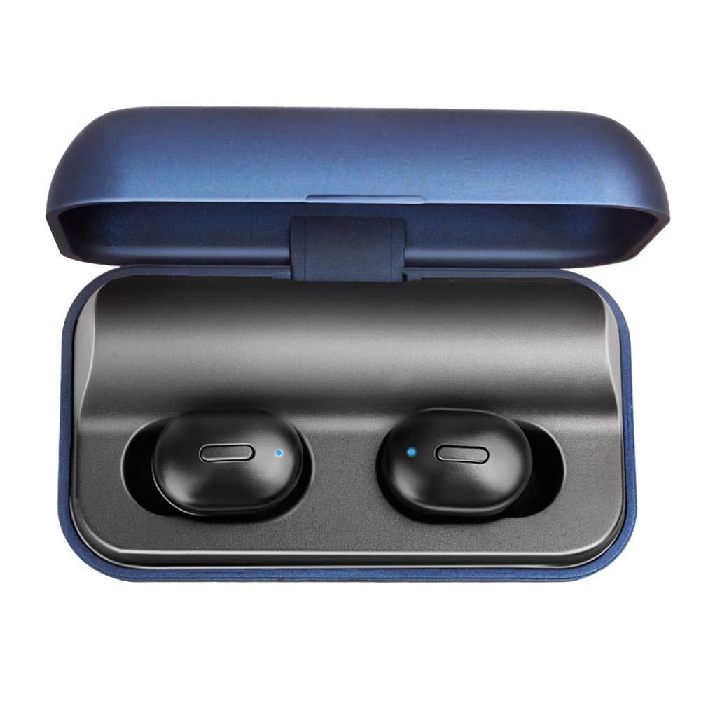 HEIRAO Auriculares inal/ámbricos Binaural Llamada Est/éreo Auriculares con reducci/ón de Ruido Bluetooth 5.0 2600 mAh Estuche de Carga