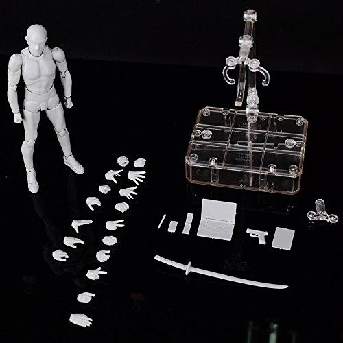 Saully Body-Chan Figure Body Kun Doll PVC Body-Chan DX Action Play Art Figure Model Drawing for SHF Figure (Body Kun)