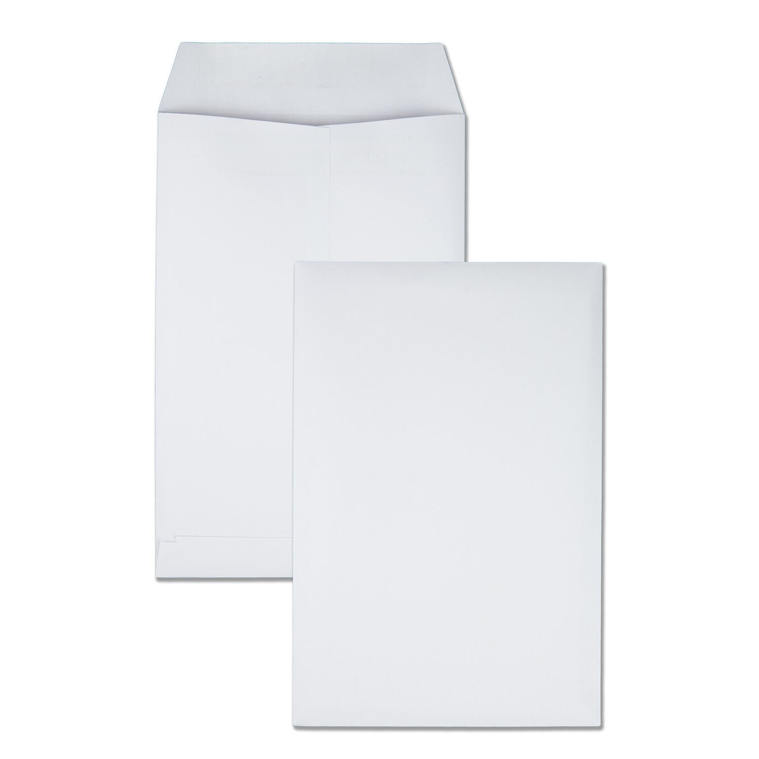Quality Park 6 x 9 Catalog Envelopes with Self Seal Closure, 28 lb White, Great Option for Mailing, Storage and Organizing, 100 per Box (43117)