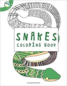 Amazon.com: Snake Coloring Book (9781530448586): Individuality Books ...