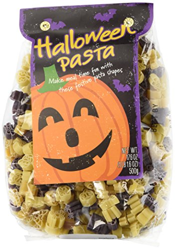 Halloween Pasta - Fun Halloween Shapes - Spiders,