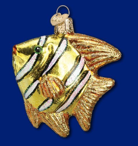 (Old World Christmas Regal Angel Fish Christmas Ornament )