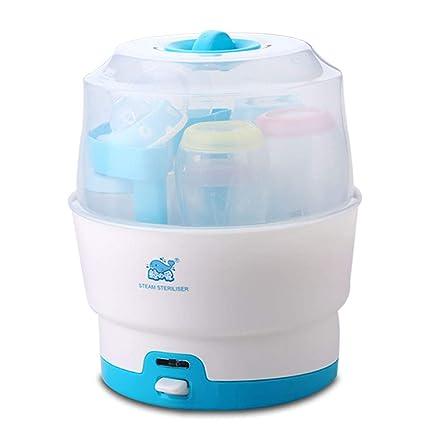 GUO@ Esterilizador de vapor para bebés, bote de esterilización de ...