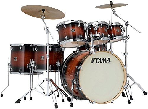 Tama CL72S Superstar Classic Maple Shell Pack Mahogany Burst Lacquer Finish ()