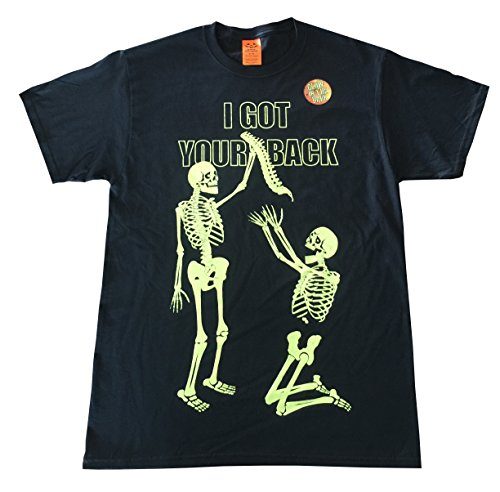Halloween I Got Your Back Skeletons Graphic T-Shirt