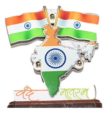 Spedy Indian Flag With Map for Car Dashbord For Toyota ... on indian print with flag, indian map with key, indian man with flag, india flag,