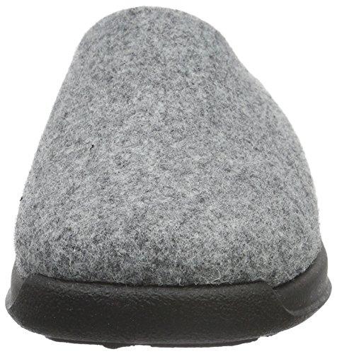 Rohde Vaasa-D, Zuecos para Mujer Gris - Grau (Grau 80)