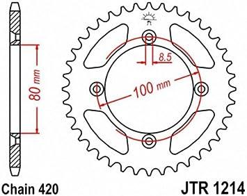 JT Sprockets JTR1214.46 46T Steel Rear Sprocket