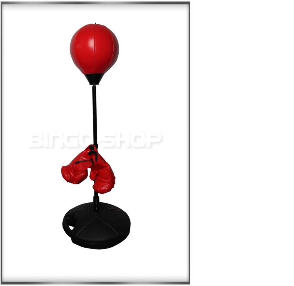 Juego de boxeo punching ball set con caja Guantes para niños P77 ...