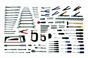 JH Williams WSC-137 136-Piece Industrial Plumbing and Pipefitting Tool Set