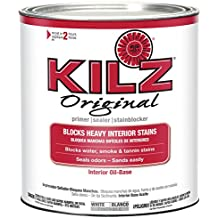 KILZ Original Multi-Surface Stain Blocking Interior Oil-Based Primer/Sealer, White, 1 Quart