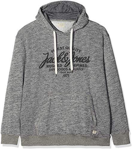 Jack Jjepanther Gris ps Sweat Melange Shirt Detail Capuche Melange light À Grey Noos Homme amp; Hood Ps Jones EqUarxPE