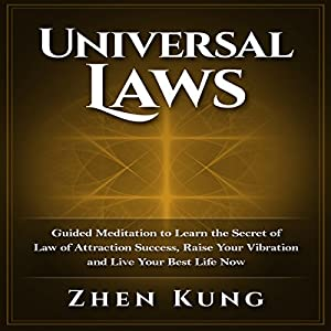 Universal Laws: Guided Meditation to Learn the Secret of Law of Attraction Success, Raise Your Vibration, and Live Your Best Life Now Hörbuch