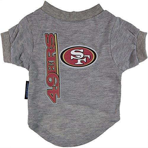 - San Francisco 49ers - Logo Dog T-Shirt - Medium