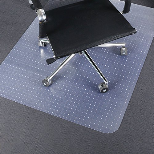 Slypnos Chair Mat Carpet Protector, Transparent Polypropylene Floor Mat for Office and Home, 36'' x 48'' Rectangular by SLYPNOS
