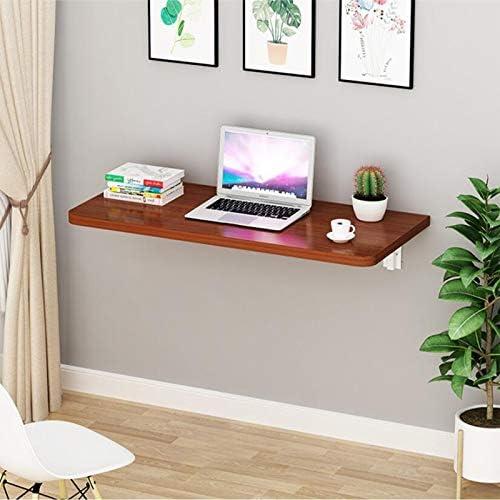 下る表を折り、目に見えない壁掛けソリッドウッドテーブル、キッチンはダイニングテーブル、パソコンデスク、省スペースの研究については、表をぶら下げ、ベッドルーム (Color : 4, Size : 90*30cm)