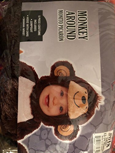 Monkey Around Costume - Baby 12-24