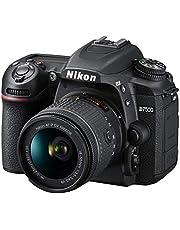Nikon D7500 Australian Warranty Nikon D7500 + AF-P 18-55mm VR Single Lens Kit, Black (VBK510OA)