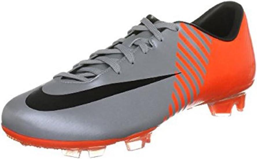 Grey, Orange 8.5 Nike Mercurial Miracle Fg WC-
