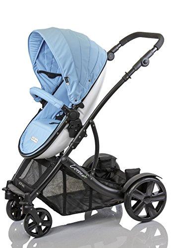 guzzie+Guss Connect+4 Stroller, Azul