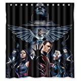 Angel Xmen Heros Custom Design Waterproof Shower Curtain Bathroom Curtains Bath Curtain 66x72 inches