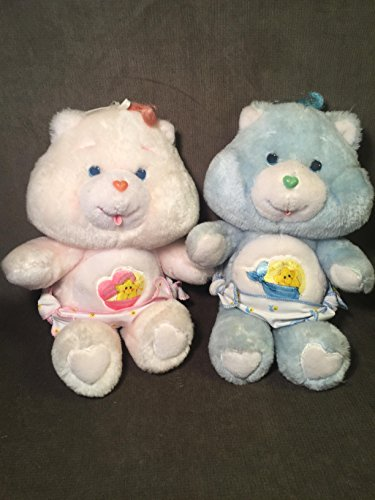 - Vintage 1983 Kenner Care Bears Baby Hugs & Tugs 12