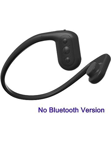 Tayogo IPX8 MP3 Conducción ósea Auriculares Impermeable con FM y Memoria de 8GB