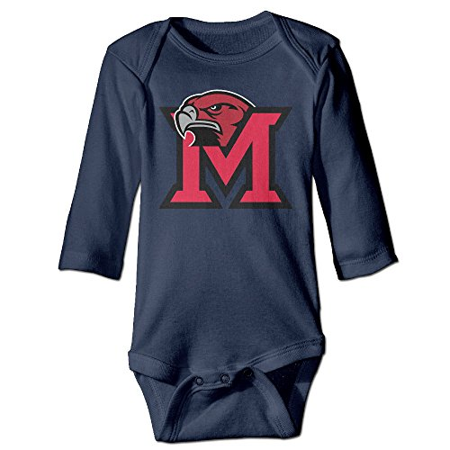 Kesha Makeup (WG T Shirt Miami University U Miami Of Ohio RedHawks Toddler Long Sleeve Romper Jumpsuit Size 18 Months Navy)