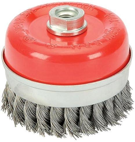 Draper 41447 60 mm x M14 Twist Knot Wire Cup Brush