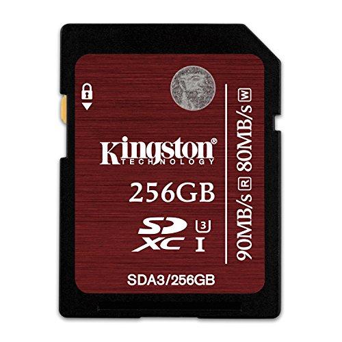 Kingston Digital 256GB SDXC UHS-I Speed Class 3 - Kingston Ssd 256