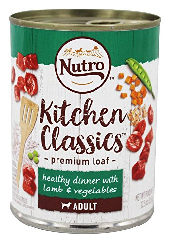 Nutro 50411573 Lite With Savory Lamb & Rice Can Dog Food, 12 Ea/12.5Oz