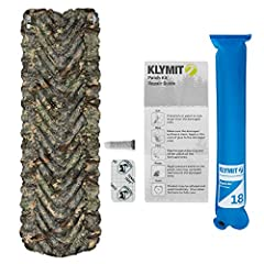 This Klymit set includes an Insulated Static V Sleeping Pad and a Pillow X