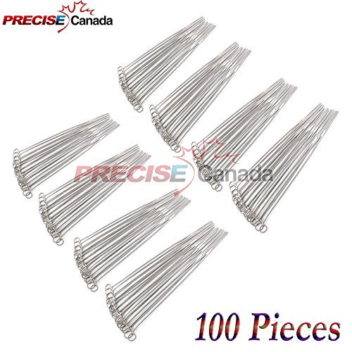 PRECISE CANADA: SET OF 100 PEAN HEMOSTAT STRAIGHT 14'' FORCEPS FULL SERRATED STAINLESS STEEL by PRECISE CANADA
