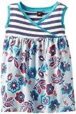 Tea Collection Girls 2-6X Sea Gypsy Wrap-Neck Tank Dress, Rivermist, 5 image