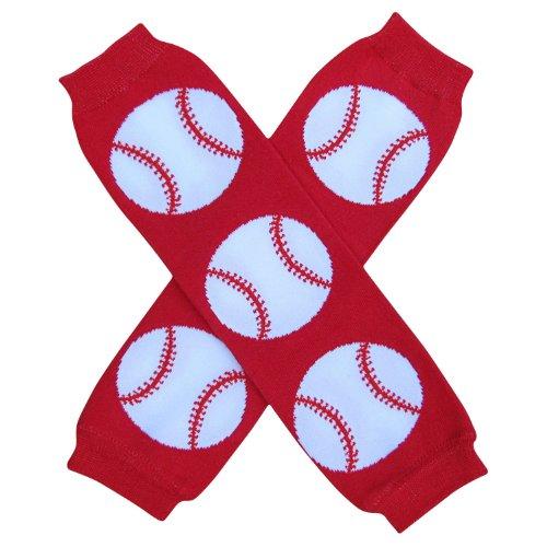 Baby Girl Baseball - Super Sports Star - Leg Warmers - One Size - Baby, Toddler, Boy, Girl (Homerun Baseball)