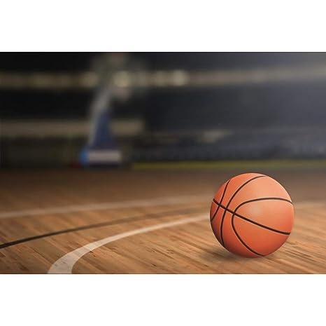 OERJU 3x2m Deporte Fondo Baloncesto Lugar Interior Suelo de Madera ...