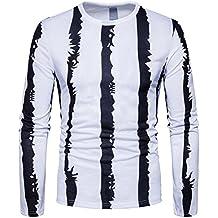 Boomboom Men Shirts, 2018 Casual Men O Neck Long Sleeve T-Shirt Blouse
