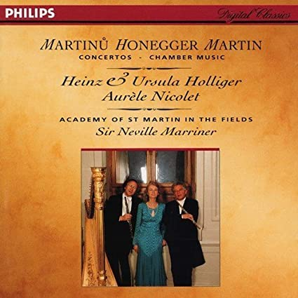 Honegger, Martin, Martinu: Chamber Music, Concertos by Philips
