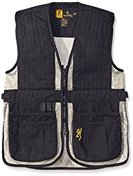 Browning Junior Trapper Creek Vest, Black/Tan, Medium