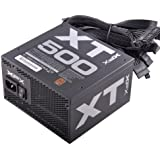 XFX P1-500B-XTFR 500W ATX Black power supply unit - power supply units (500 W, 100 - 240, 50 - 60, Active, 102 W, 465 W)