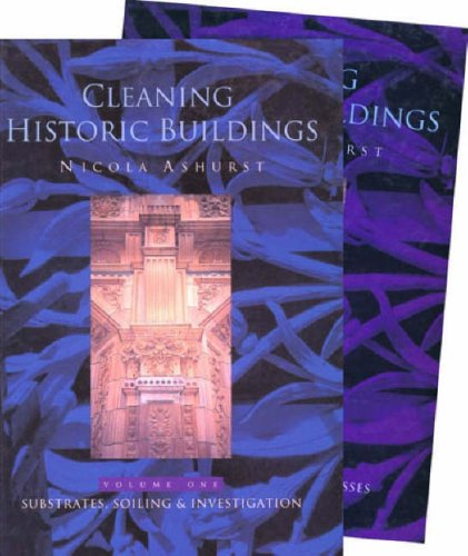 Cleaning Historic Buildings v. 1 & 2