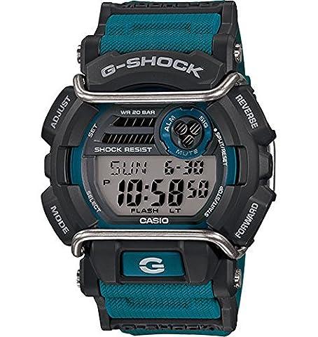 G-Shock GD400-2 Standard Digital Luxury Watch - Blue / One Size (Blue G Shock Men)