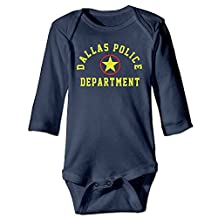 Neutral Bodysuits Dallas Police Long Sleeve