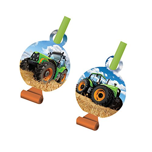 Creative Converting 318061 Tractor Time Blowouts Party Supplies,
