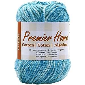 Premier Yarns Home Cotton Yarn, Ocean Splash