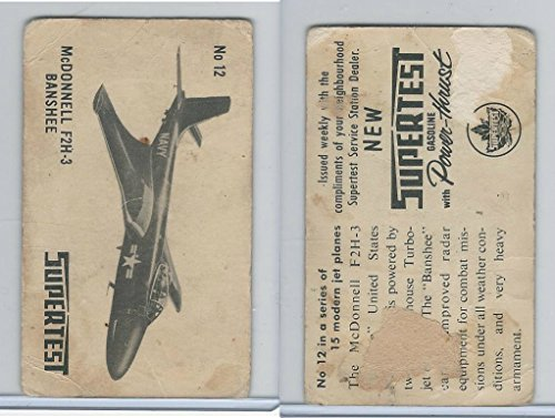 Gasoline Jet - UOC2 Supertest Gasoline, Modern Jet Planes, 1952, 12 McDonnell F2H3