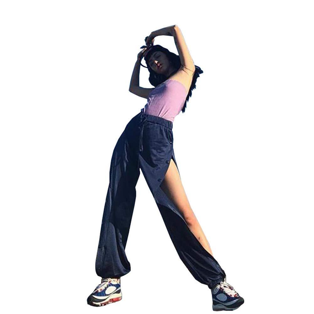 Sijux Pantalones de harén de Mujeres, Pantalones de chándal para ...