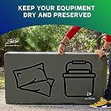 YardStash Heavy Duty Waterproof Deck Box Cover