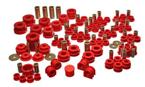 - Energy Suspension 7.18108R Hyper-Flex System Red Master Set Hyper-Flex System