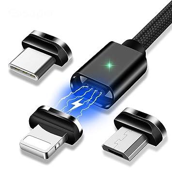 Amazon.com: Zuzu - Cable de carga magnético USB tipo C ...